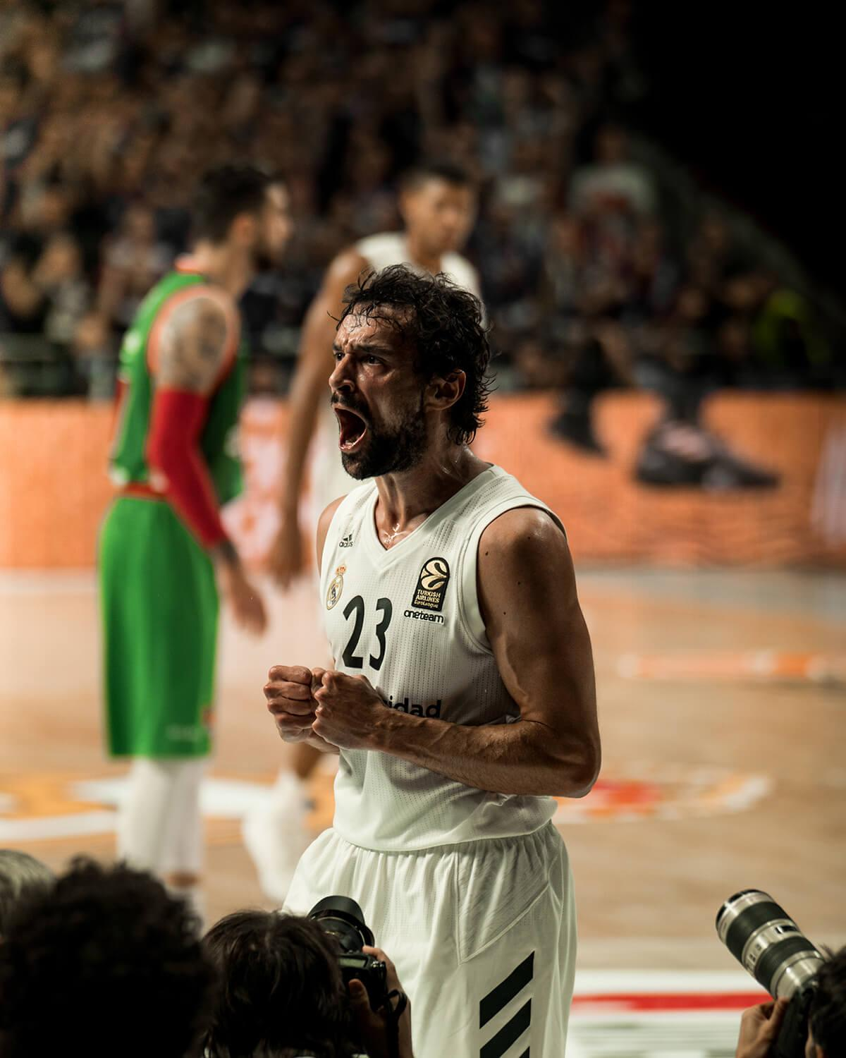 Real Madrid VS Baskonia – Llull 3