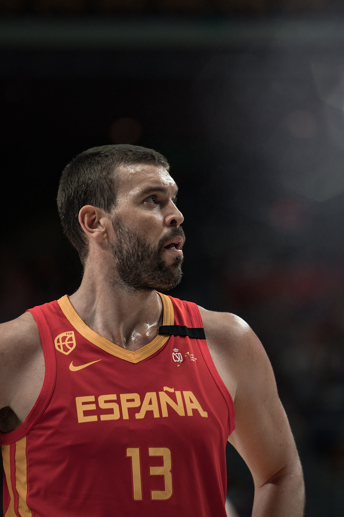 España vs RDC - Marc Gasol