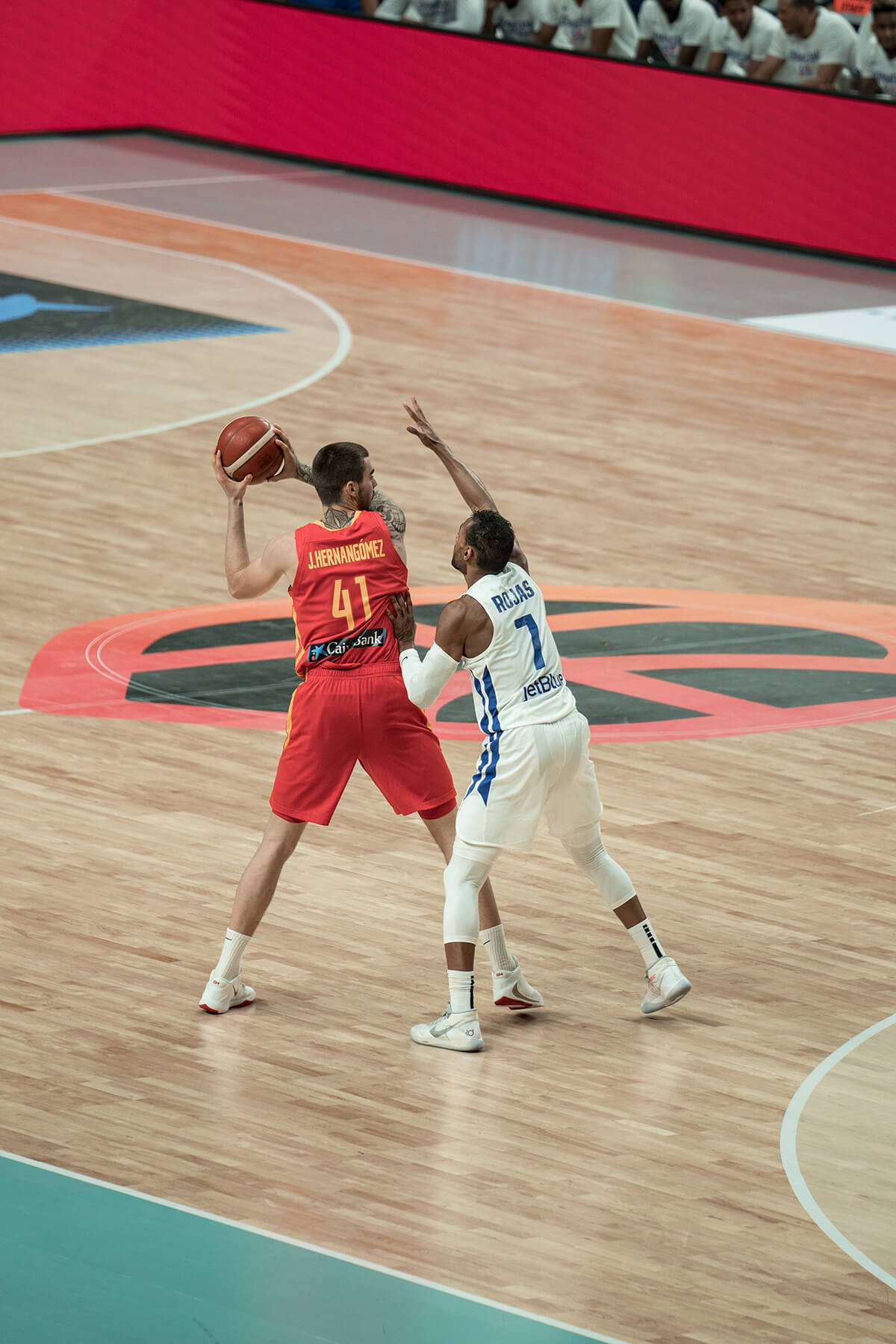 España vs RDC - Juancho Hernangómez