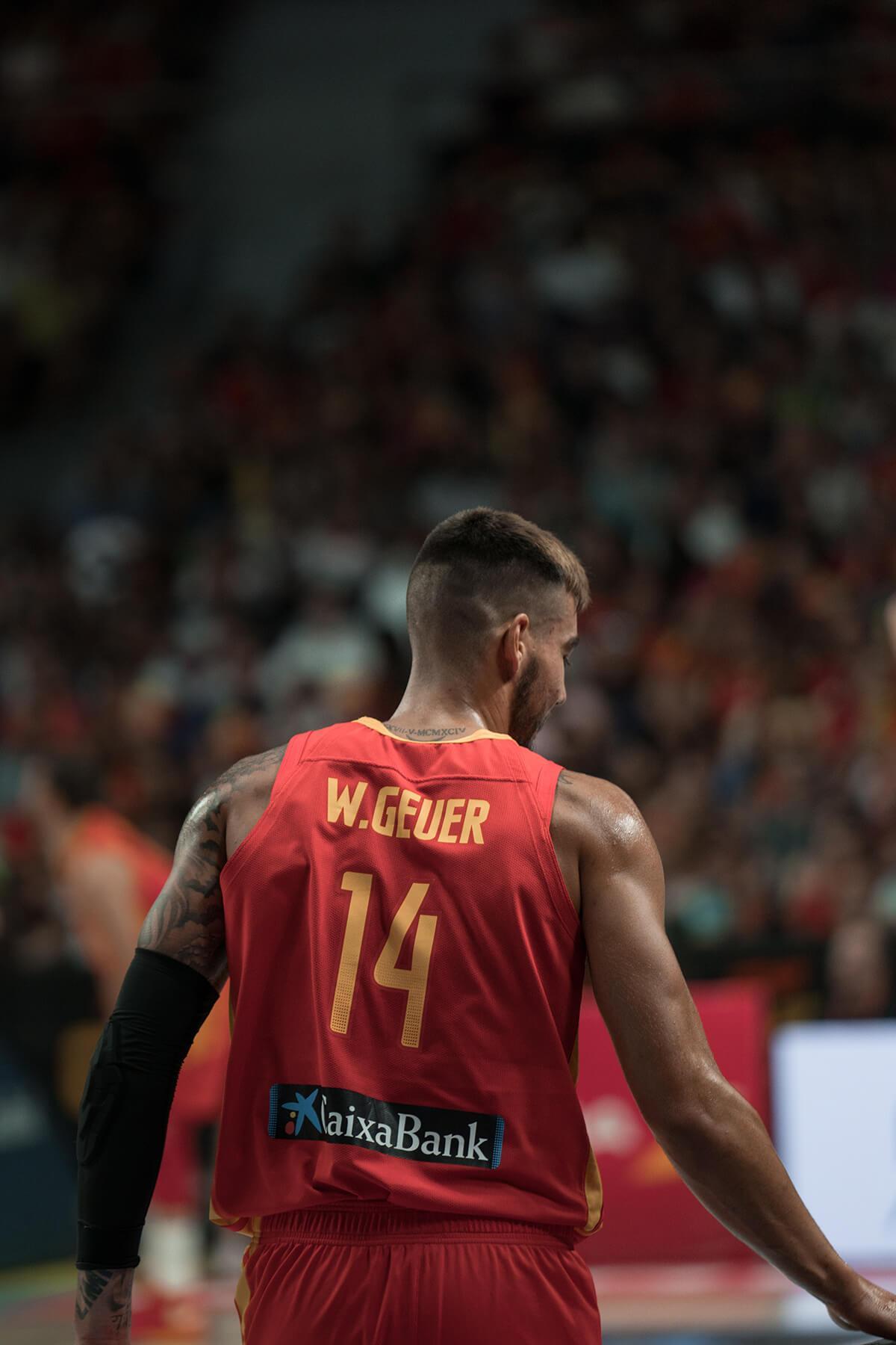 España vs RDC – Willy Hernangómez