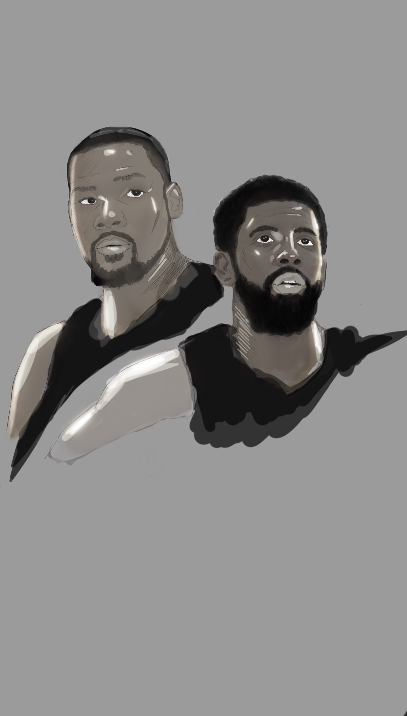 Kyrie Irving & Kevin Durant – Brooklyn Nets